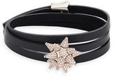 Swarovski Kalix Wrap Soft Bracelet, palladium plating
