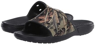 Crocs Classic Realtree Slide (Black) Slide Shoes