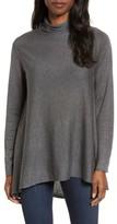Eileen Fisher Petite Women's Scrunch Turtleneck Sweater
