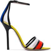 Aperlaï ankle strap sandals - women - Calf Leather/Calf Suede/Nylon/Leather - 36.5