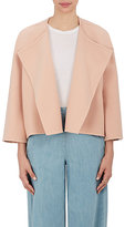 Chloé WOMEN'S WOOL-CASHMERE COLLARLESS JACKET