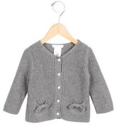 Jacadi Girls' Bow-Accented Button-Up Cardigan