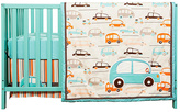 Trend Lab Vroom La-La Three-Piece Crib Bedding Set
