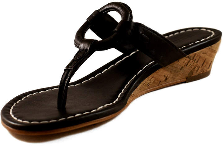 Bernardo Matrix Wedge Sandals