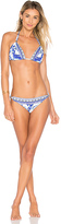 Camilla Ball Bikini Set in Blue. - size M (also in )