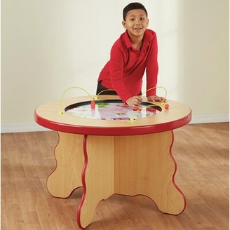 Kids Fruit and Veggie Magnetic Activity Table Playscapes