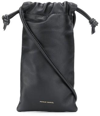 Mansur Gavriel Pillow Necklace cross body bag