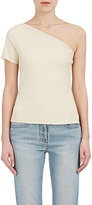 Helmut Lang Women's Leather One-Shoulder Top