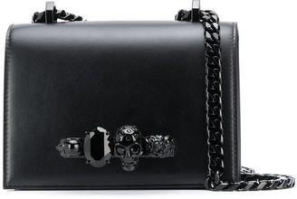 Alexander McQueen Skull Knuckle Duster Crossbody Bag