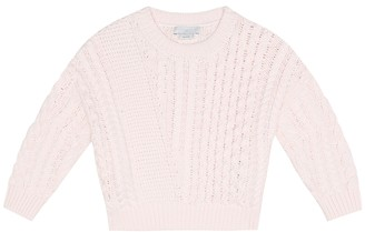Stella McCartney Kids Baby cotton and wool sweater