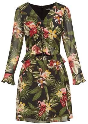 Sam Edelman Flamingo Bell Sleeve Dress