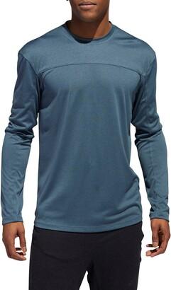 adidas City Heather Long Sleeve T-Shirt