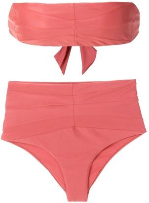 ESC Astro high-rise bikini set