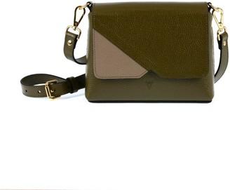 Hiva Atelier Mini Mare Leather Bag Khaki & Sand