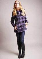 Purple/Black Plaid Lya Jacket