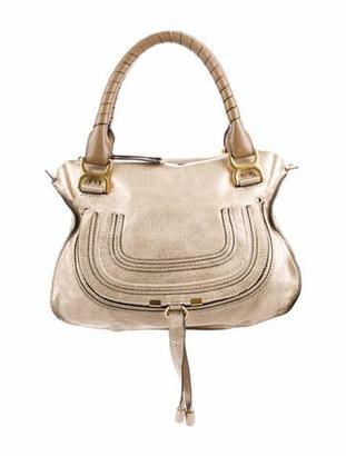 Chloé Medium Marcie Shoulder Bag Gold