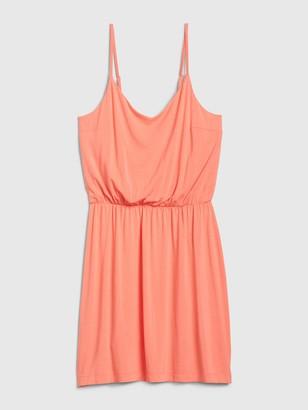 Gap Cami Cinched Waist Dress