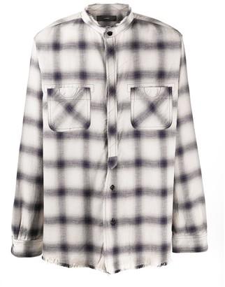Alanui Plaid Long-Sleeve Shirt