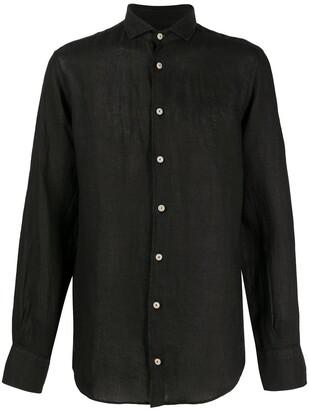 MC2 Saint Barth Button-Up Long-Sleeve Shirt