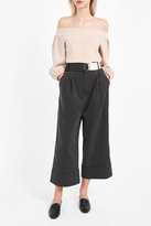 Tibi Cecil Cropped Trousers