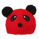 SODIAL(R) Baby Girls Boys Kids Knit Cap Winter Warm Hat