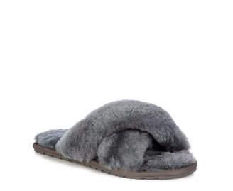 Emu Charcoal Sheepskin Mayberry Slipper - 41 - Grey