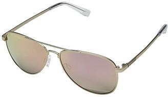 Von Zipper VonZipper Statey (Gold Satin/Rose Gold Chrome) Sport Sunglasses
