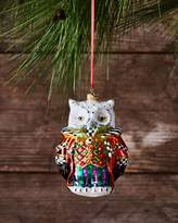 Mackenzie Childs MacKenzie-Childs Wise Owl Christmas Ornament