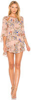 Marissa Webb Emmeline Print Dress in Rose. - size M (also in )