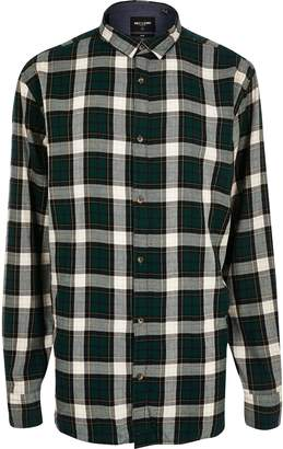 River Island Mens Only & Sons Big and Tall Green check shirt