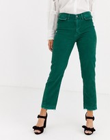 We The Free By Free People by Free People Aces high waisted straight leg pants in cord