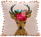 Karma Living Reindeer Pillow