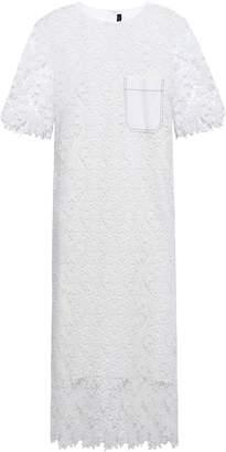 Joseph Ellis Guipure Lace Midi Dress