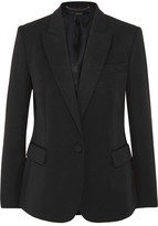 Stella McCartney Wool-twill Blazer - Black