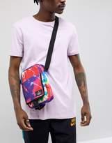 Asos Flight Bag With Front Pocket In Tie Dye