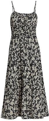 Faithfull The Brand Le Temps Des Fleur Canyon Cotton Midi Dress