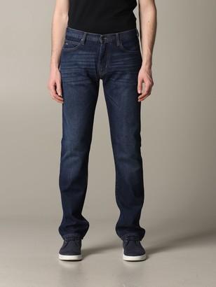 Emporio Armani Jeans Regular Fit Jeans 8 Oz