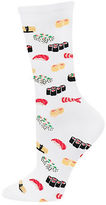 Hot Sox Sushi Print Trouser Socks