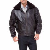 Asstd National Brand Air Force B 15 Leather Bomber Jacket Tall