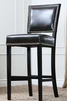 Ima Dark Brown Faux Leather Bar Stool