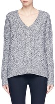 Vince V-neck cable knit sweater