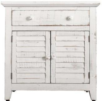 Medora 2 Door Accent Cabinet Highland Dunes Color: White