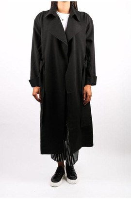 Just Female Axelle Trench Coat - M - Black