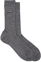 Antipast Women's Ribbed Trouser Socks-DARK GREY