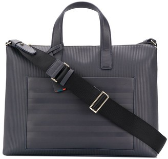 Paul Smith Ribbed Branded Briefcase