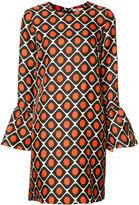 La Double J - bell sleeve dress - women - Silk - S