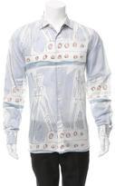 Prada Printed Button-Up Shirt