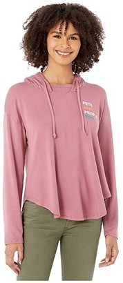good hYOUman Marlene Pets Are People Too Pullover (Rose Dust) Women's Clothing