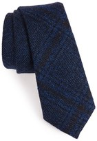 Alexander Olch 'The Glenn' Plaid Textured Wool Tie