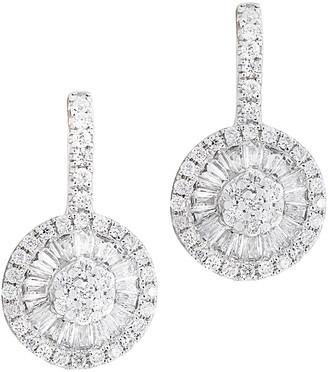 Diana M Fine Jewelry 14K 0.62 Ct. Tw. Diamond Earrings